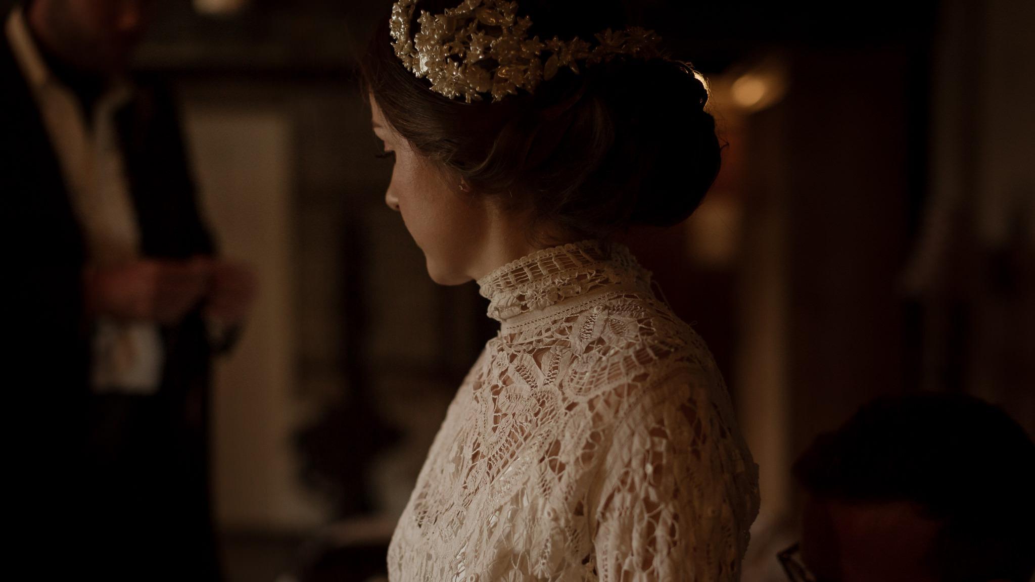 Vintage Wedding Dress Photography | Layla