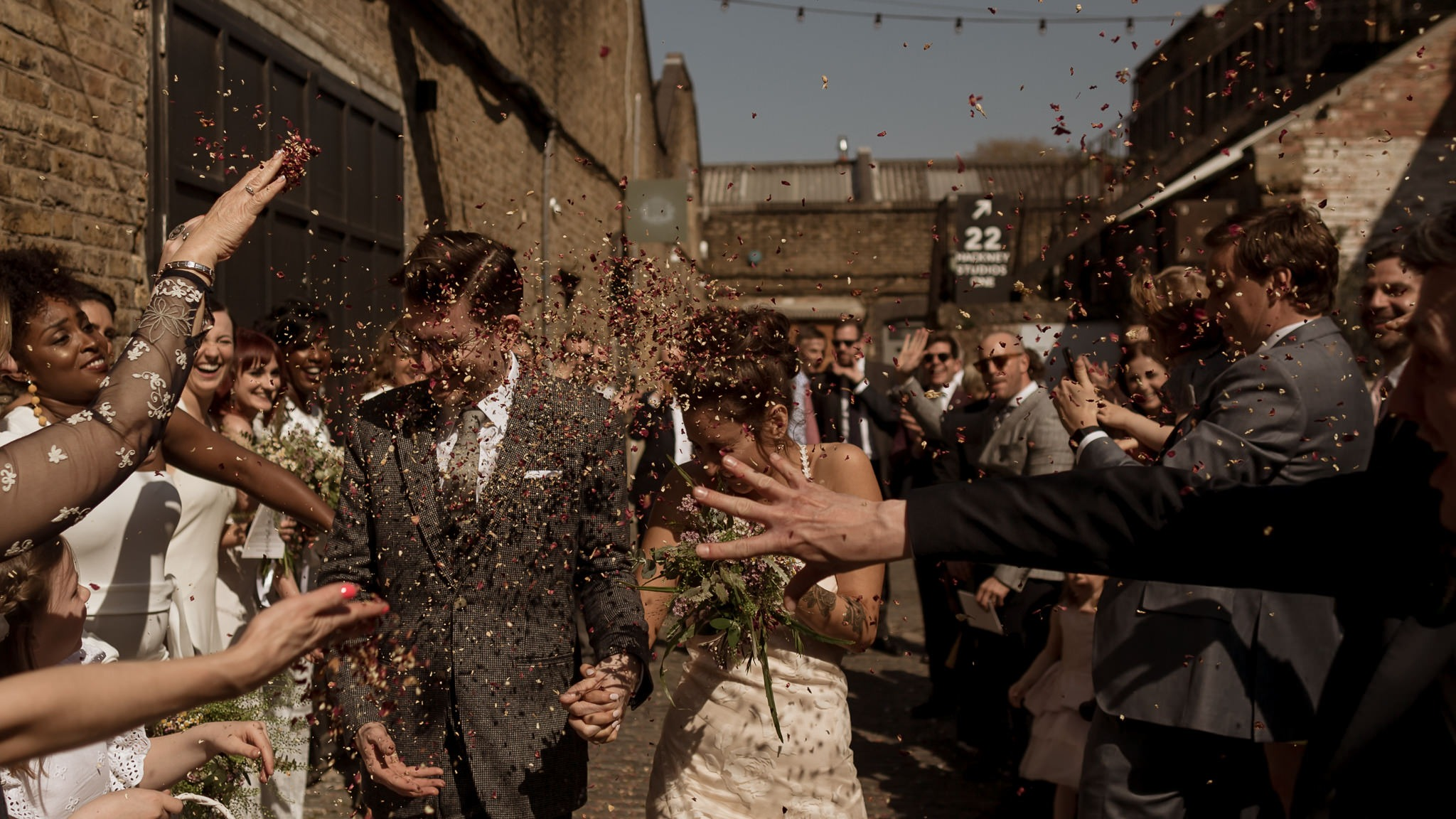 Hackney London Wedding Photography | Rich + Yas