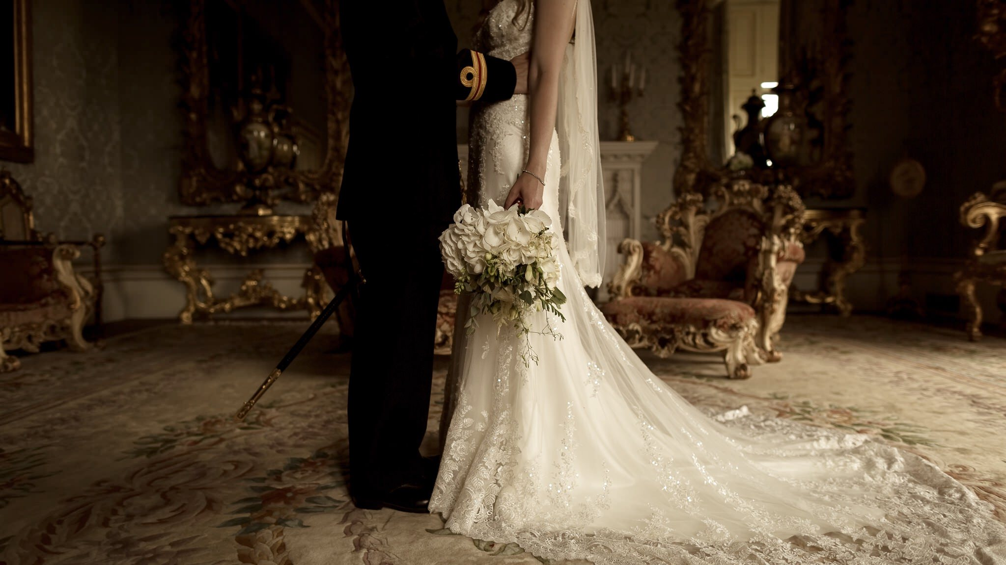 Leeds Castle Kent Wedding Photographer