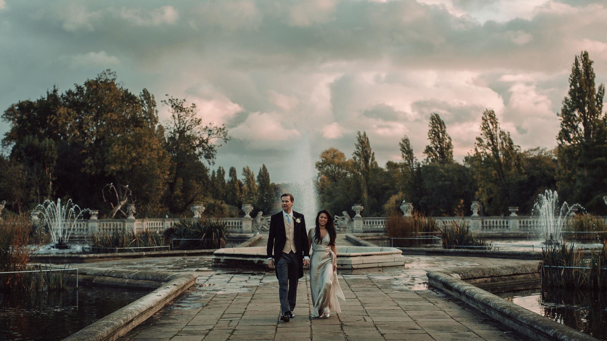 Italian Gardens London Wedding Photography