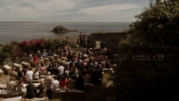 Prussia Cove, Cornwall Wedding | Layla + Ed