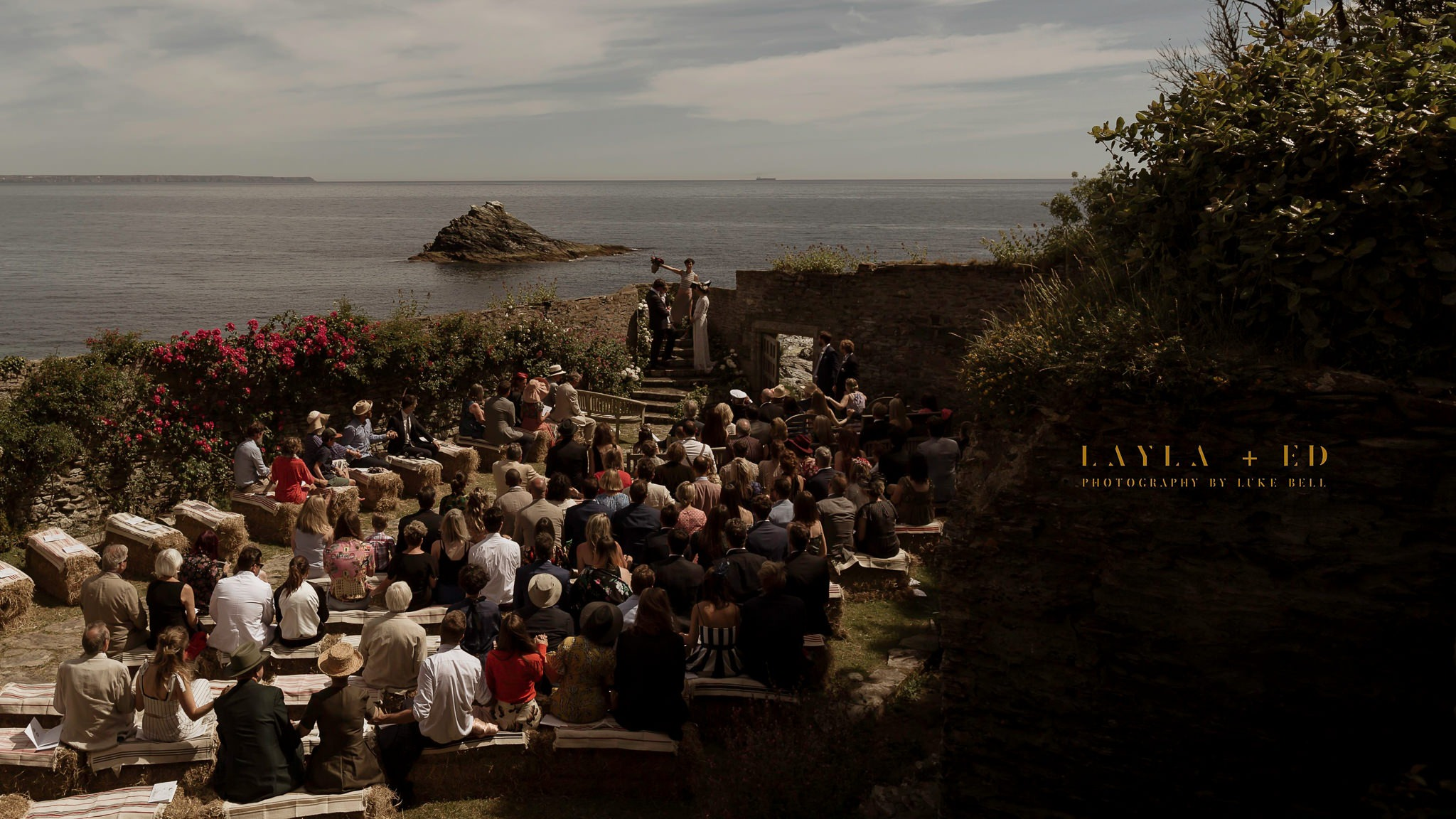 Prussia Cove Cornwall Wedding | Layla + Ed