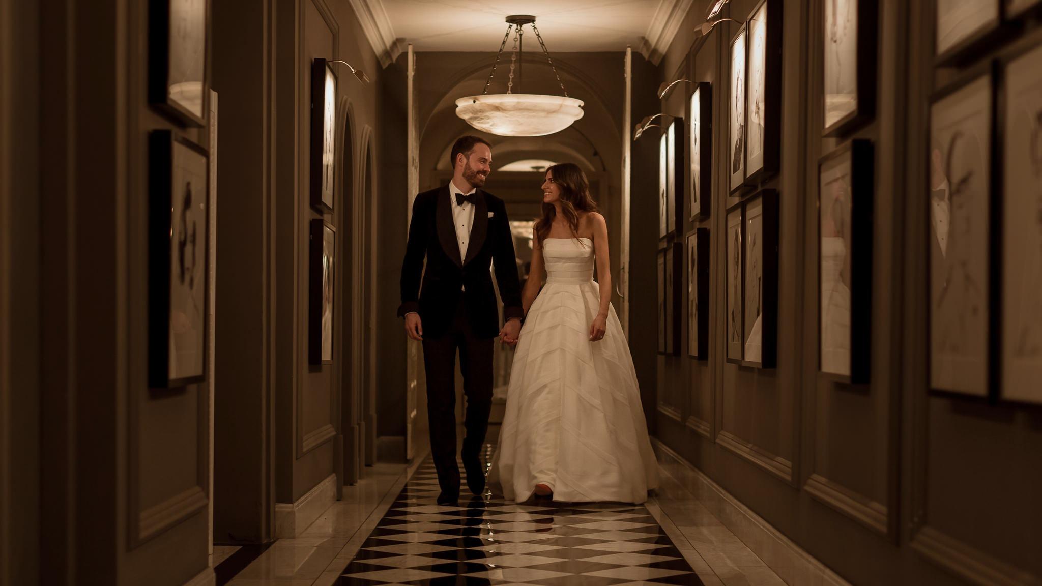 Claridges Hotel London Wedding Photography | W + J
