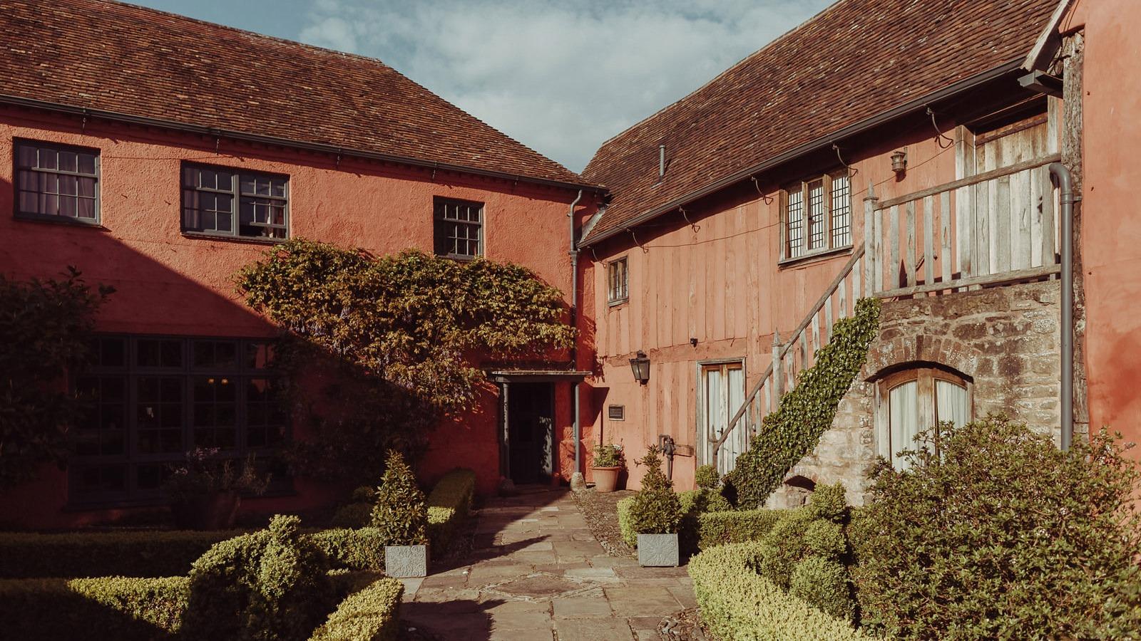 Pauntley Court Gloucestershire Wedding Photography