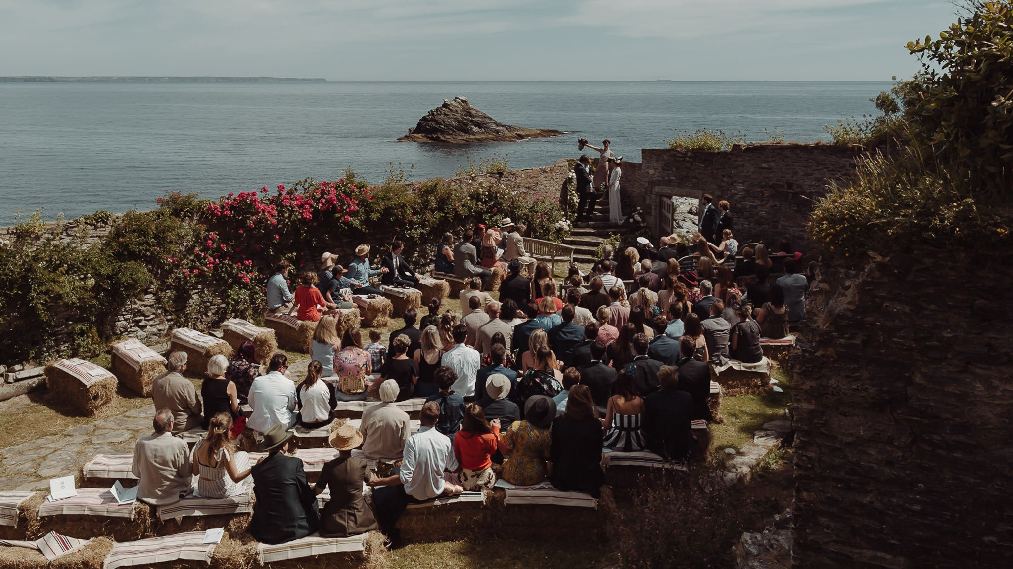 Prussia Cove Cornwall Wedding